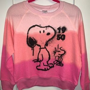 Sweater snoopy  size M